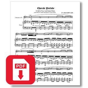 Bach Chorale Prelude