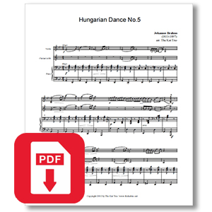 Brahms Hungarian Dance No.5