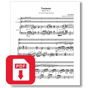 Bruch Op.83 No.6