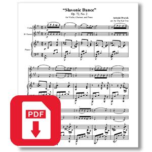 Dvorak Slavonic Dance Op.72 No.2